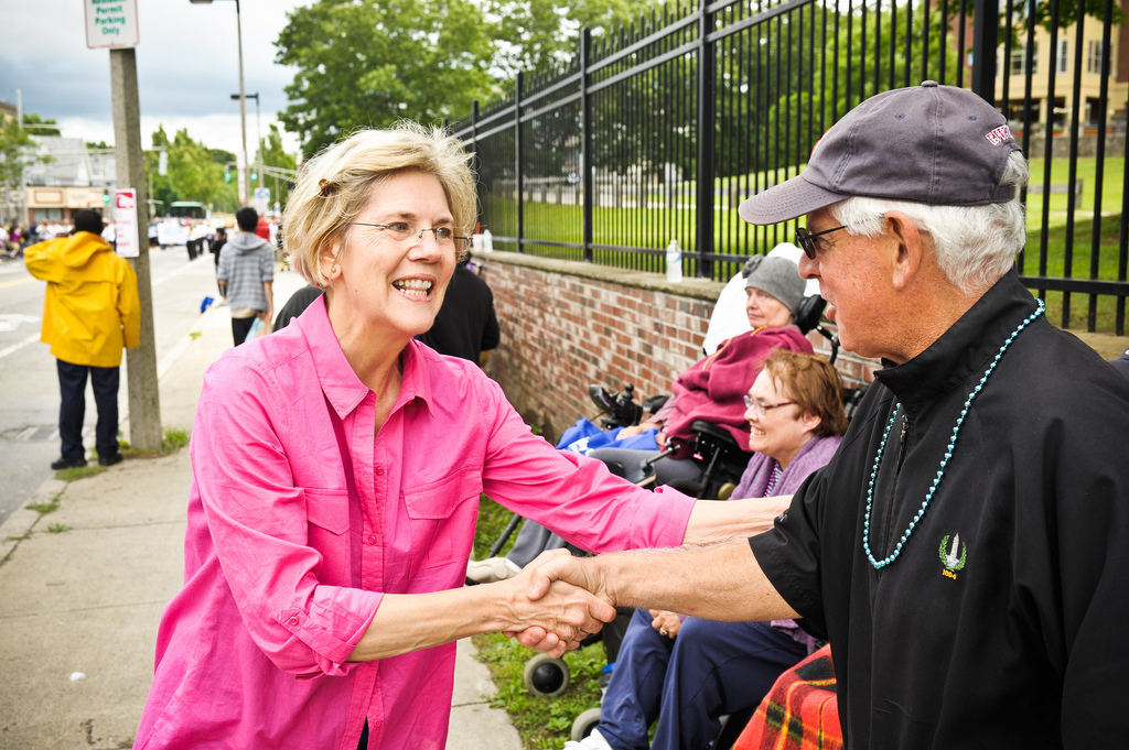 Courtesy of ElizabethforMA via Flickr