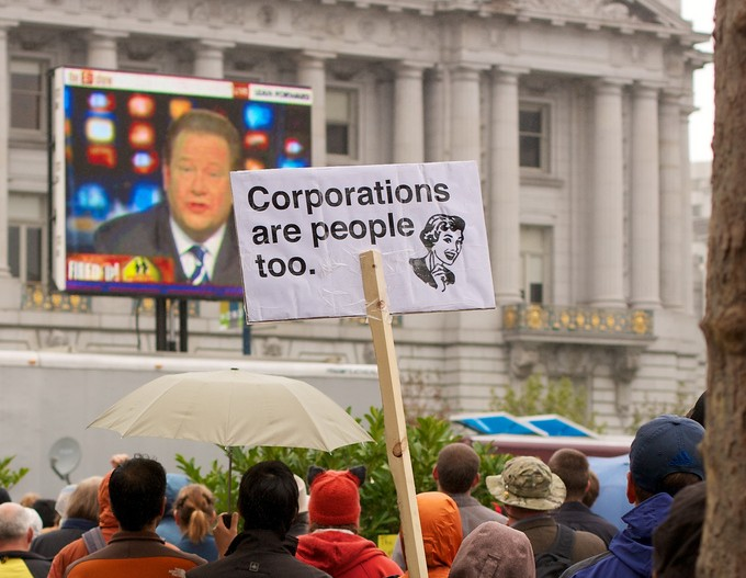Corporations are People Too by Jason Kong