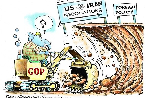 Iran Talks and GOP by Dave Granlund
