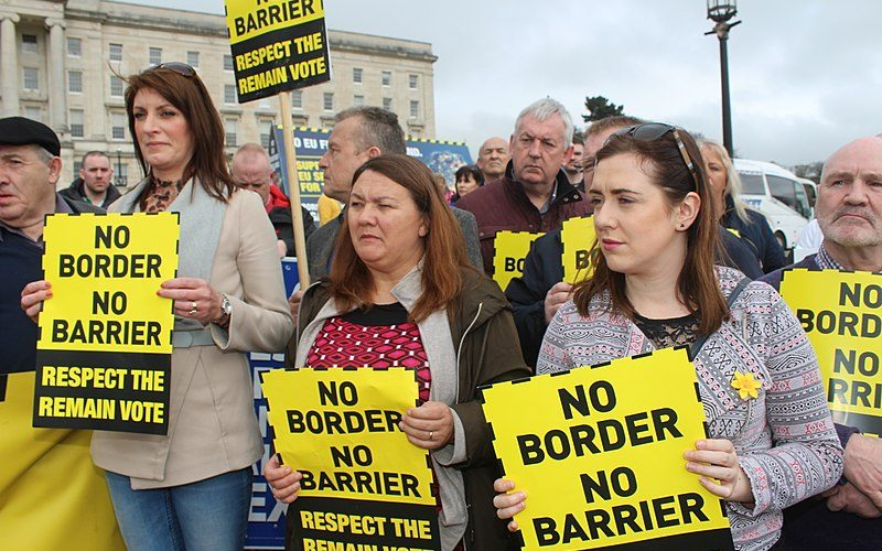 Back)stop it: The Role of the Irish Border Problem in Brexit